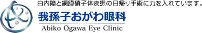 我孫子おがわ眼科:白内障と網膜硝子体疾患の日帰り手術に力を入れています。